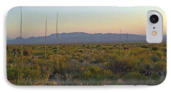 Sunrise Christmas Mountains IPhone Case