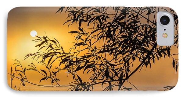 Sunrise Fog IPhone Case