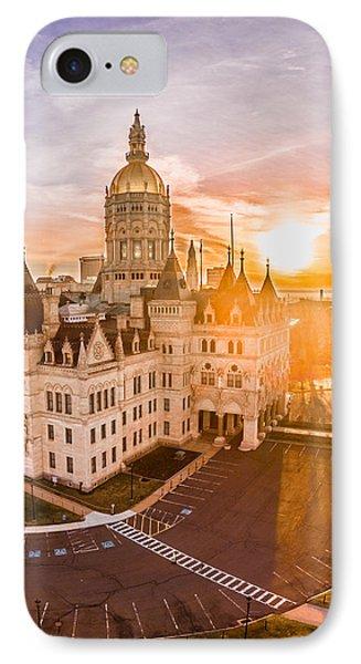 Sunrise In Hartford Connecticut IPhone Case