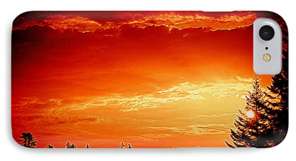 Sunrise In Southport Maine IPhone Case
