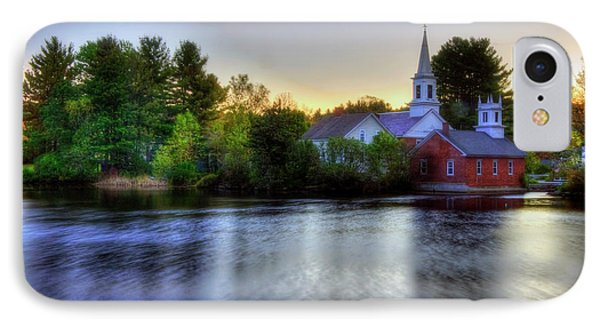 IPhone Case featuring the photograph Sunrise In The Country - Harrisville Nh by Joann Vitali