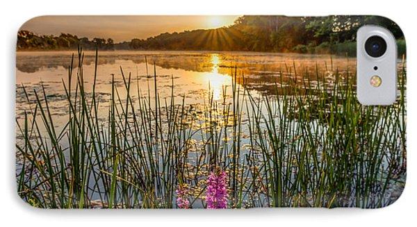 Sunrise Kent Lake IPhone Case