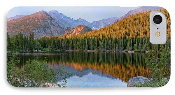 Sunrise On Bear Lake Rocky Mtns IPhone Case