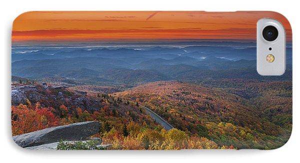 Sunrise On Rough Ridge  IPhone Case