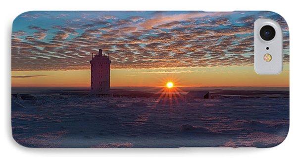 Sunrise On The Brocken, Harz IPhone Case