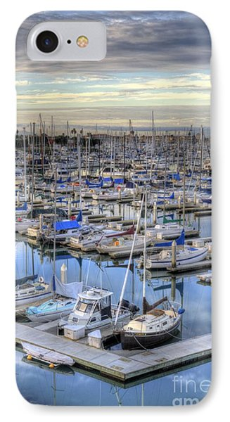 Sunrise On The Harbor IPhone Case