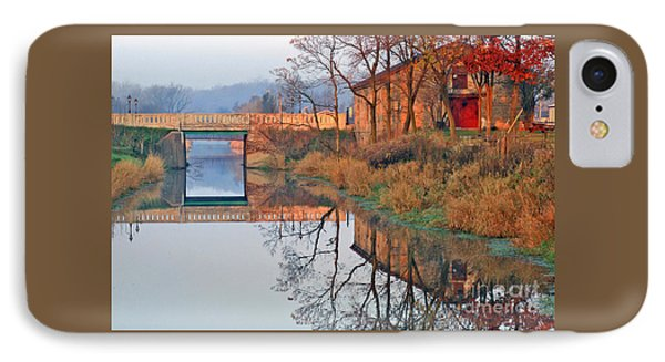Sunrise On The I And  M Canal IPhone Case