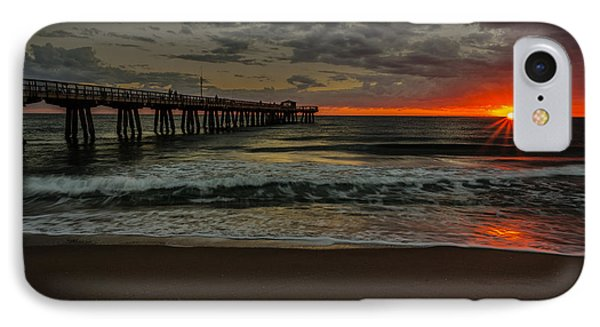 Sunrise On The Water IPhone Case
