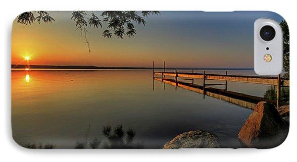 Sunrise Over Cayuga Lake IPhone Case