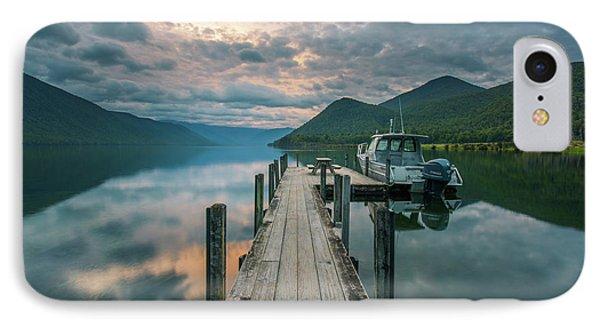 Sunrise Over Lake Rotoroa IPhone Case