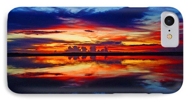 Sunrise Rainbow Reflection IPhone Case
