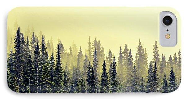 Sunrise Through The Pines IPhone Case