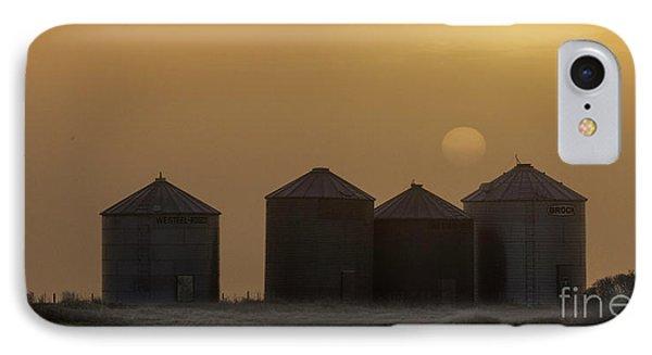 Sunrise Through The Fog IPhone Case