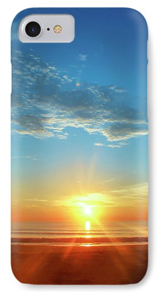 Sunrise With Flare IPhone Case