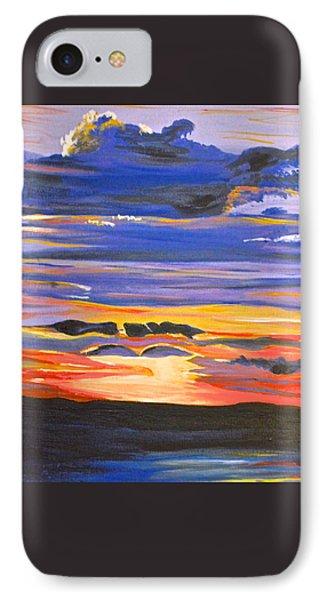 Sunset #5 IPhone Case