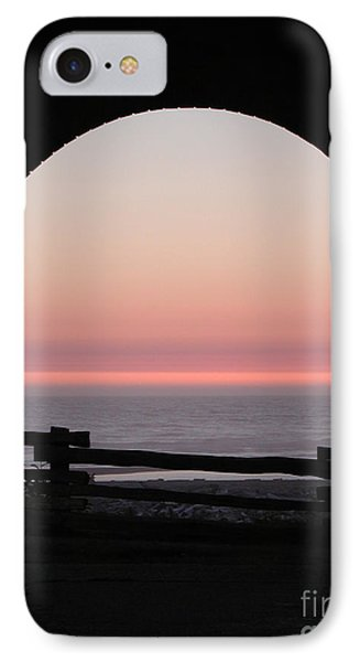 Sunset Arch With Fog Bank IPhone Case