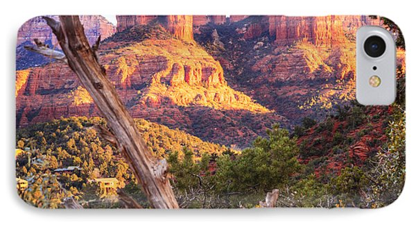 Sunset At Cathedral Rock IPhone Case