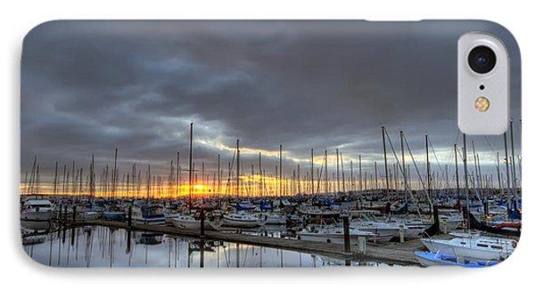 Sunset At Port Gardner IPhone Case
