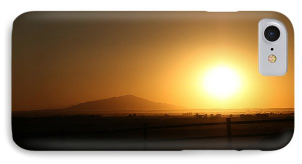 Sunset At Roswell New Mexico  IPhone Case
