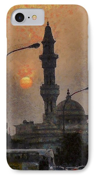 Sunset At Seeb IPhone Case