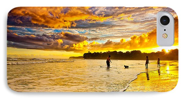 Sunset At The Coast IPhone Case