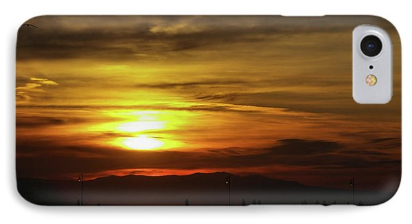 Sunset At Thessaloniki IPhone Case