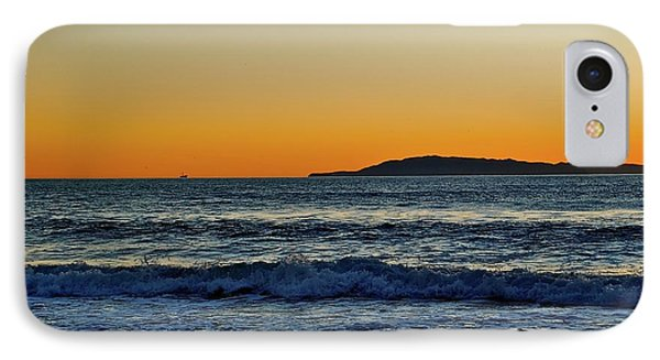 Sunset Bird Reflections IPhone Case
