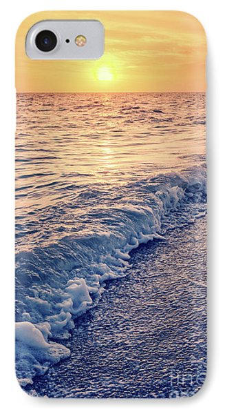 Sunset Bowman Beach Sanibel Island Florida Vintage IPhone Case