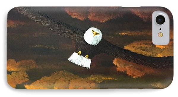 Sunset Eagle IPhone Case