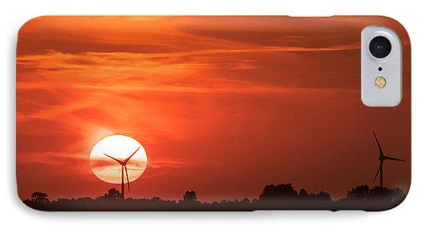 Sunset Husum IPhone Case
