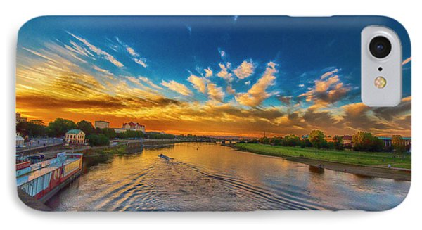 Sunset In Dresden IPhone Case