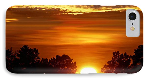 Sunset In Sonoma County IPhone Case