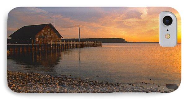 Sunset On Anderson's Dock - Door County IPhone Case