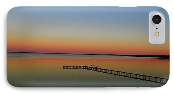 Sunset On The Pier IPhone Case