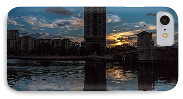 Sunset On The Water IPhone Case