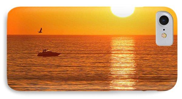 Sunset Solitude IPhone Case