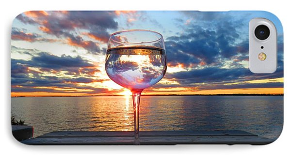 June Sunset On The River IPhone Case
