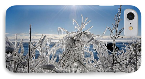 Sunshine And Ice IPhone Case
