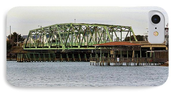 Surf City Swing Bridge IPhone Case