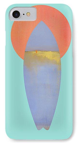 Surfboard Art Print IPhone Case
