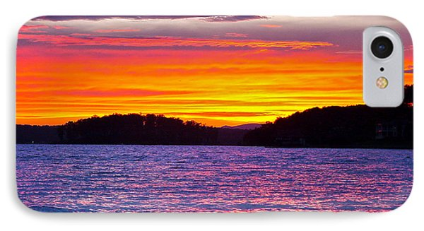 Surreal Smith Mountain Lake Sunset 2 IPhone Case