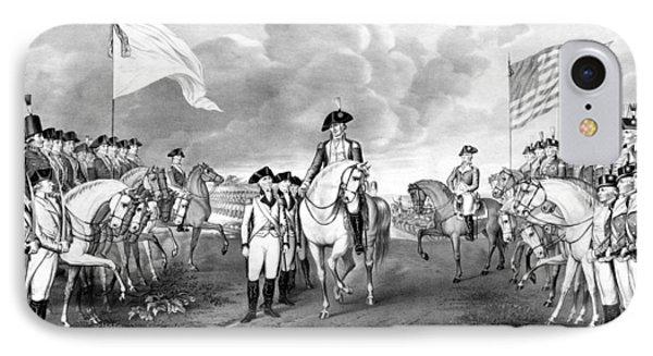 Surrender Of Lord Cornwallis At Yorktown IPhone Case