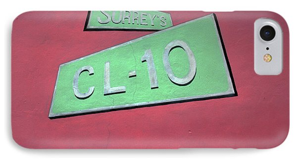 Surrey's Cl-10 IPhone Case