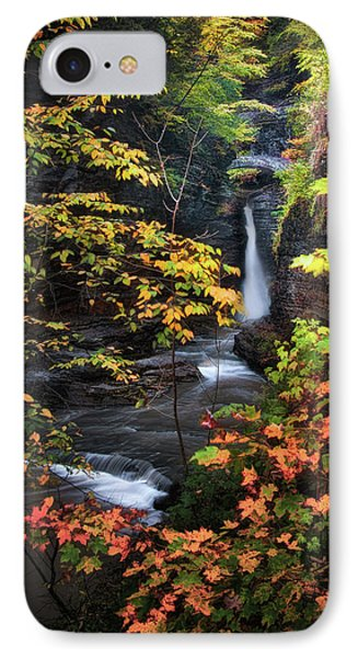 Surrounded By Fall IPhone Case