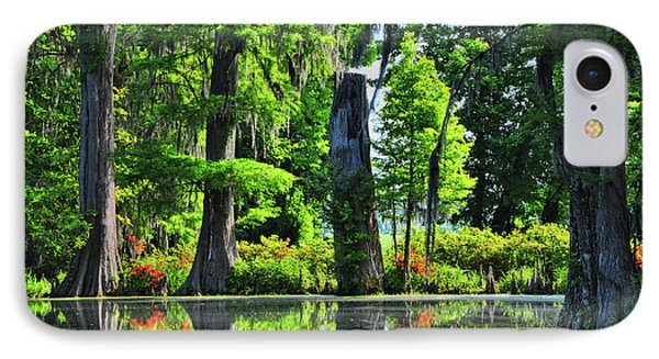 Swamp In Bloom Signed IPhone Case