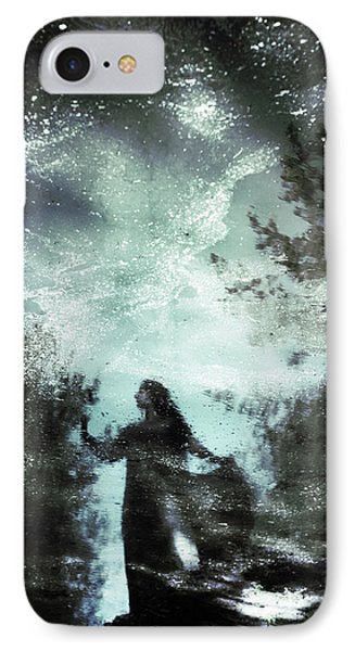 Magician iPhone 8 Case - Swamp Witch by Cambion Art