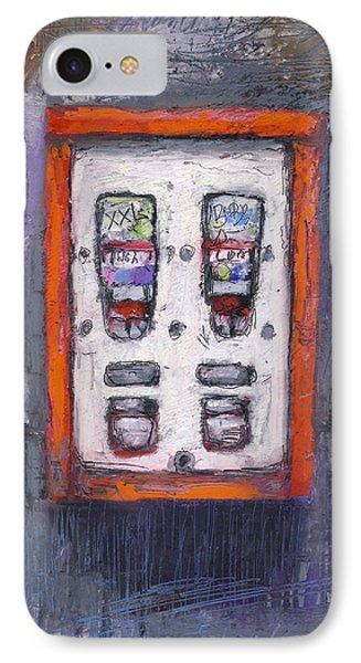Sweet Childhood Memories,bubblegum Machine IPhone Case