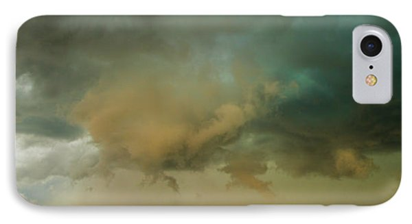 Nebraskasc iPhone 8 Case - Swirling Nebraska Supercells 001 by NebraskaSC