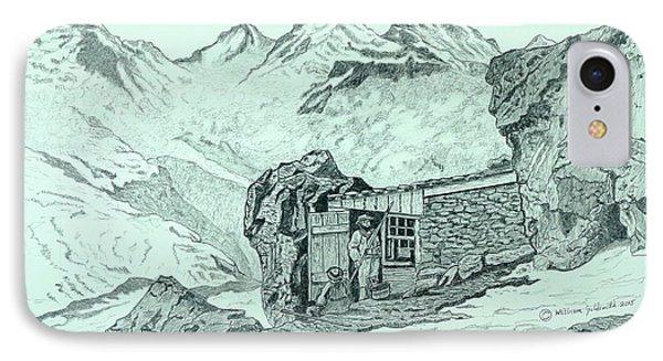 Swiss Alpine Cabin IPhone Case