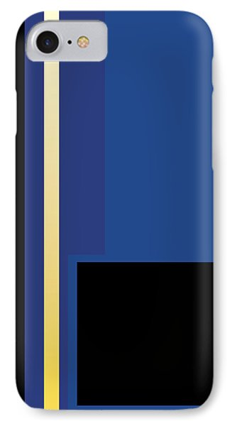 Symphony In Blue - Movement 2 - 3 IPhone Case